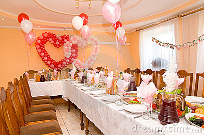 Wedding banquet hall stock image image 16234011 for Afghan cuisine banquet hall