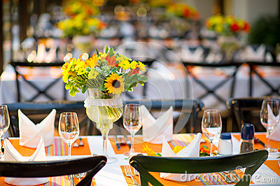 Wedding and Banquet table