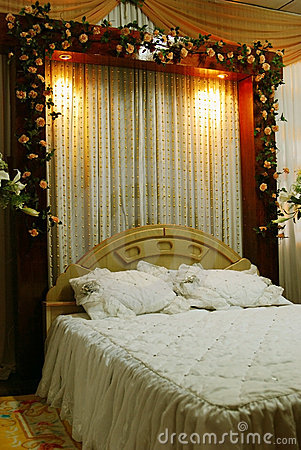 Bridal Bed Decoration