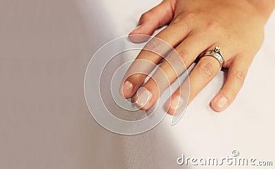 Wedding and betrothal ring