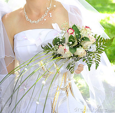 Free Wedding Bouquet Royalty Free Stock Photography - 18187457