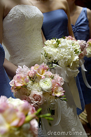 Free Wedding Bouquets Stock Photography - 4369852