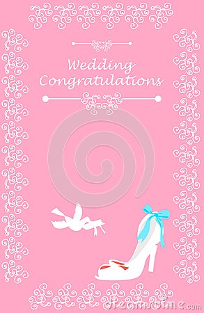 Wedding Bridal card
