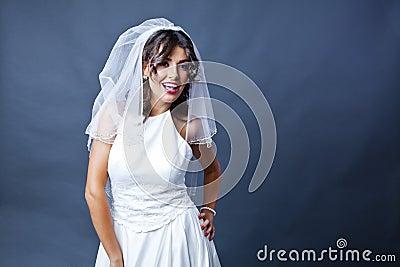 Wedding bride portrait