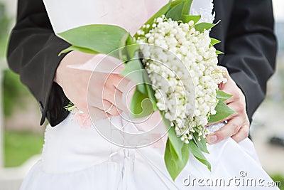 Wedding bunch-of-flowers