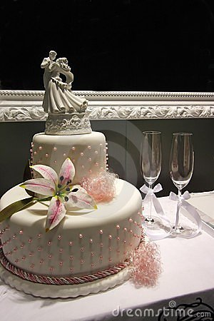 Free Wedding Cake Royalty Free Stock Image - 1079386