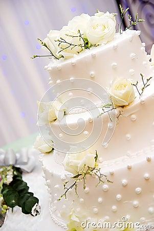 Free Wedding Cake Stock Photography - 14025712