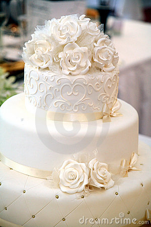 Free Wedding Cake Royalty Free Stock Image - 14377976