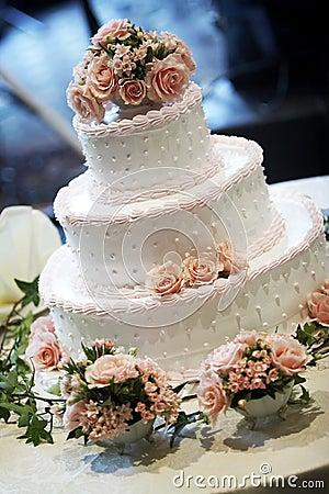Free Wedding Cake Stock Image - 1571261