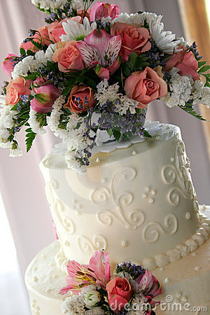 Free Wedding Cake Royalty Free Stock Images - 227679