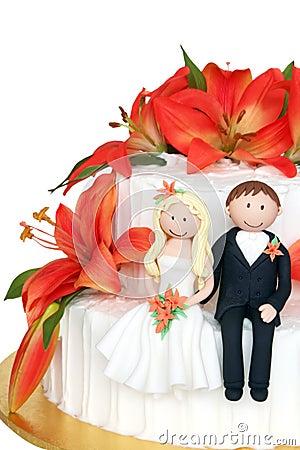Free Wedding Cake Stock Photography - 2452702