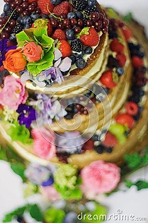 Free Wedding Cake Stock Photo - 60148240