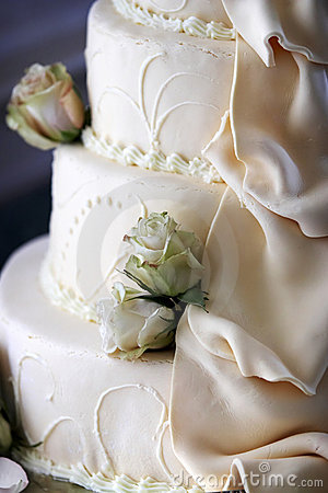 Free Wedding Cake Detail Stock Image - 1543941