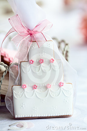 Free Wedding Cake Favor Stock Images - 18559544