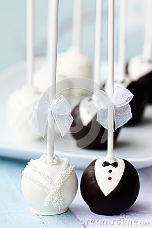 Free Wedding Cake Pops Stock Photos - 24636313