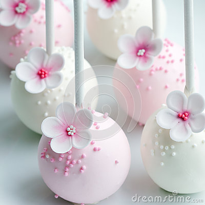 Free Wedding Cake Pops Stock Photos - 49923913