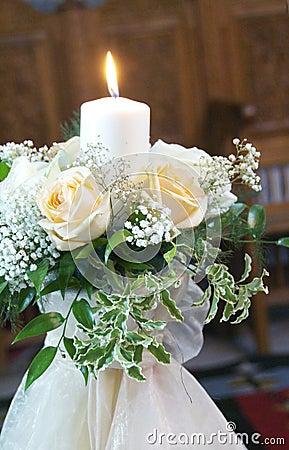 Free Wedding Candle Royalty Free Stock Photos - 6869128