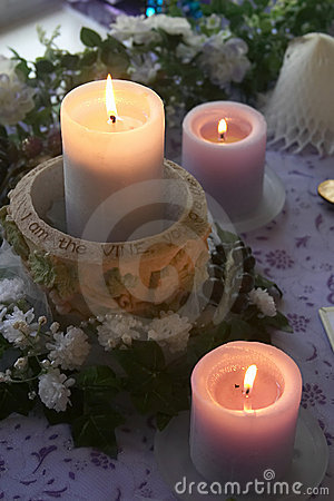 Free Wedding Candles Stock Photos - 129893