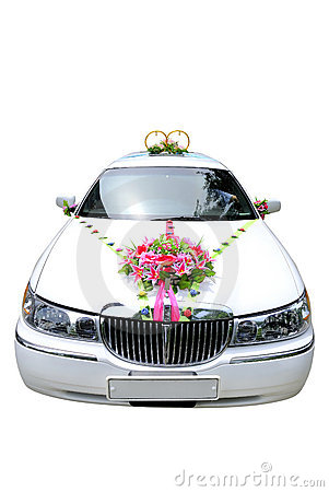 Free Wedding Car Royalty Free Stock Image - 15058066