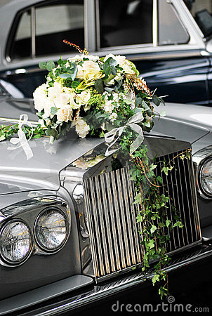 Free Wedding Car Front Royalty Free Stock Photos - 16788858