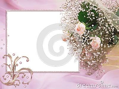 Wedding Card Pink Dreams