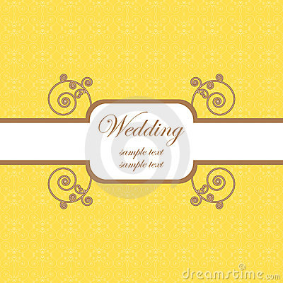Wedding card template 2