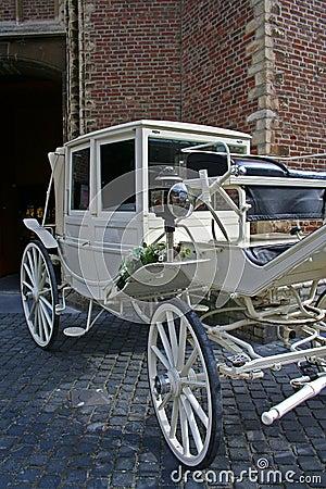 Free Wedding Carriage Stock Image - 1353081