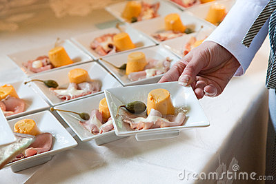 wedding catering food