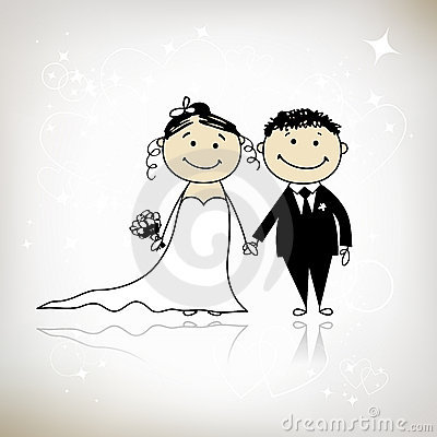 Wedding ceremony - bride and groom together