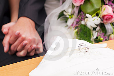 Wedding - ceremony and rings
