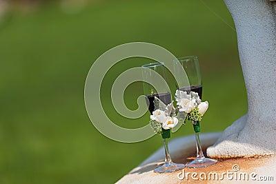 Wedding Champagne glasses