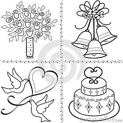 Wedding Clip Art Set/eps
