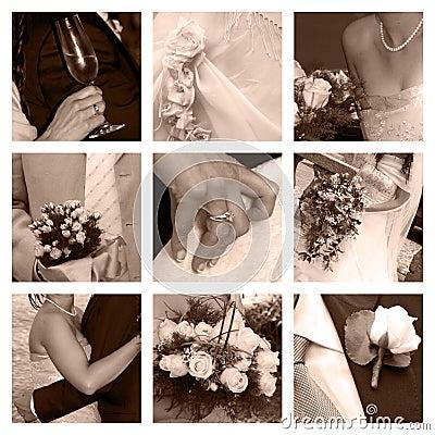 Wedding Collage Atm2003 Dreamstime   World