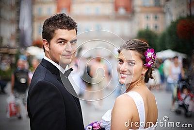 Wedding couple
