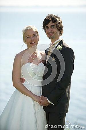 Wedding couple simplicity