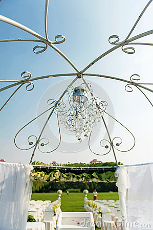 Wedding crystal chandelier