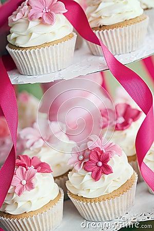 Free Wedding Cupcakes Royalty Free Stock Photography - 14388227