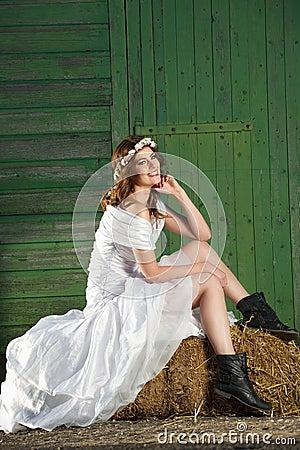 Free Wedding Day Smile Stock Photography - 27603192