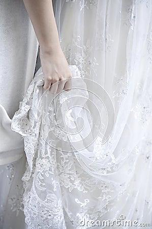 Free Wedding Dress Stock Image - 14458791