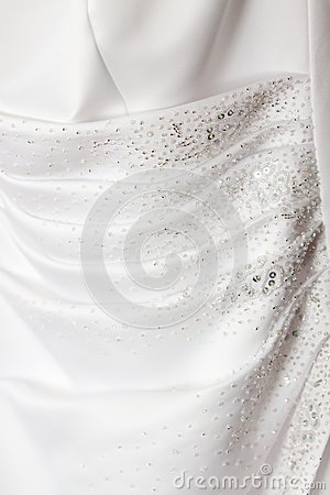 Wedding Dress Detail Royalty Free Stock Photos - Image: 10100908
