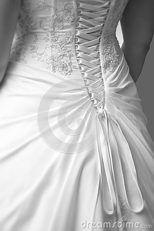 Wedding Dress Detail Back