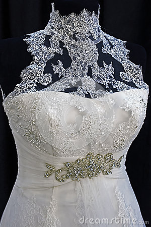 Wedding dress. Detail-25
