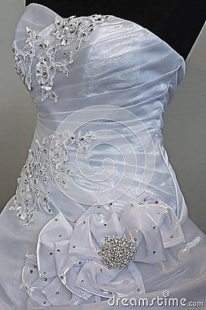 Wedding dress. Detail-18