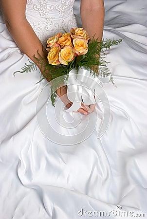 Free Wedding Dress Flowers Stock Image - 2871221