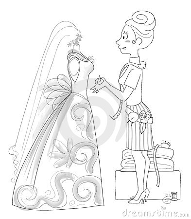 Wedding Dressmaker - bw