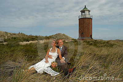 Wedding in the dunes