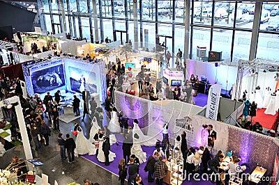 Wedding event in Frankfurt 2012 Editorial Stock Image