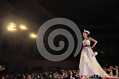 Wedding Fashion Show Editorial Image