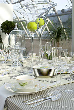 Wedding festive table