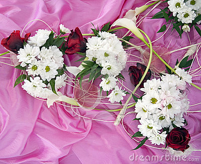 Wedding Silk Flower Arrangements on Home   Stock Image  Wedding Flower Arrangement